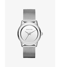 Kinley Silver-Tone Watch by Michael Kors
