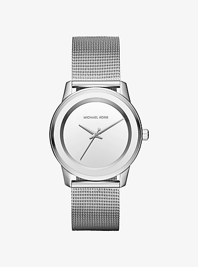 Kinley Silver-Tone Watch by Michael Kors