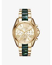 Bradshaw Gold-Tone and Acetate Watch