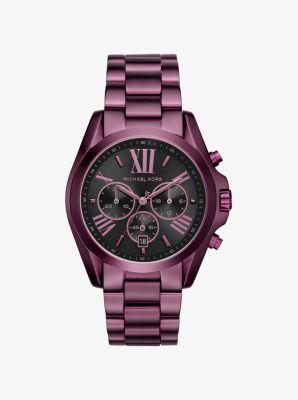 Bradshaw Plum-Tone Watch by Michael Kors