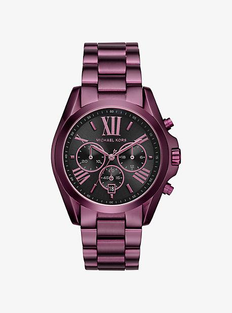 Bradshaw Plum-Tone Watch