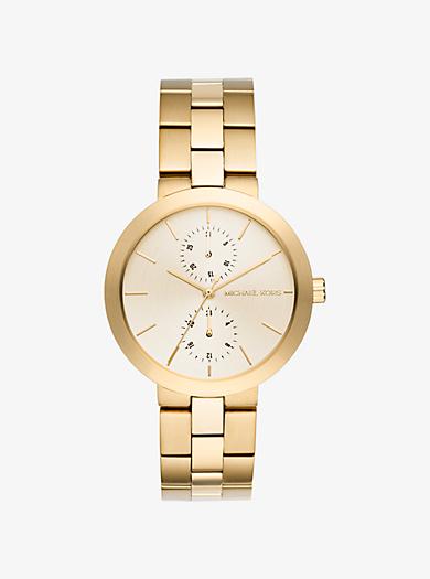 Garner Gold-Tone Watch by Michael Kors