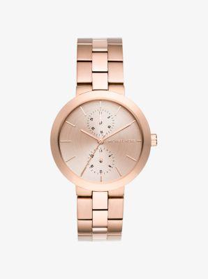 Garner Rose Gold-Tone Watch by Michael Kors