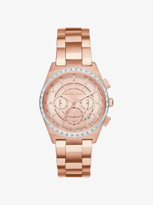 Vail Rose Gold-Tone Watch by Michael Kors