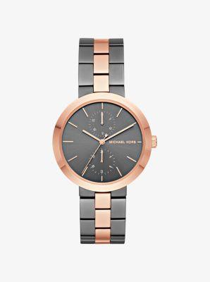 Garner Two-Tone Watch by Michael Kors