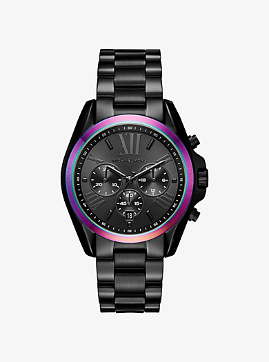 women 39 s black watches michael kors. Black Bedroom Furniture Sets. Home Design Ideas