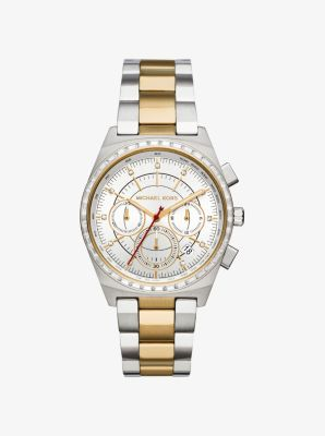 Vail Two-Tone Watch by Michael Kors