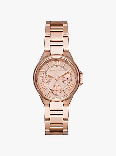 Mini Bailey Rose Gold-Tone Watch by Michael Kors