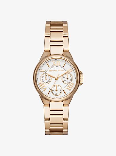 Mini Bailey Gold-Tone Watch by Michael Kors