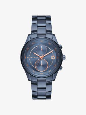Briar Navy-Tone Watch by Michael Kors