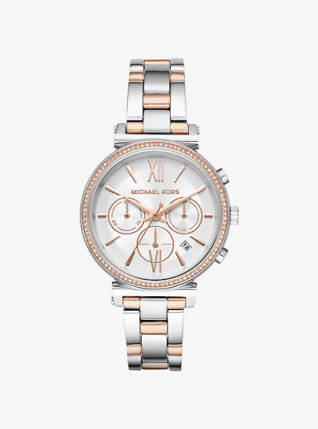 Sofie Pave Two-Tone Watch