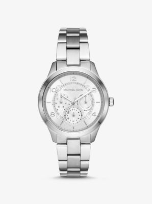 마이클 코어스 메탈 시계 Michael Kors Runway Silver-Tone Watch,SILVER