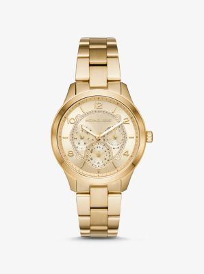 마이클 코어스 메탈 시계 Michael Kors Runway Gold-Tone Watch,GOLD