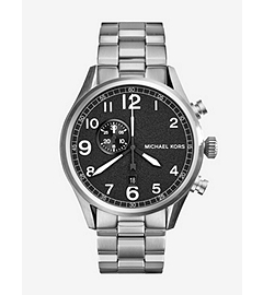 Hangar Silver-Tone Stainless Steel Watch