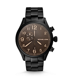 Hangar Matte-Black Stainless Steel Watch