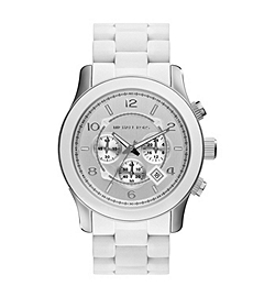 Runway White Stainless Steel Watch