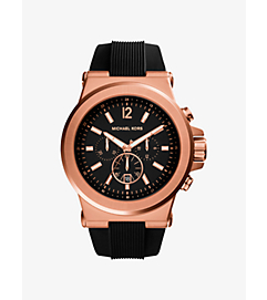 Dylan Rose Gold-Tone Stainless Steel Watch by Michael Kors