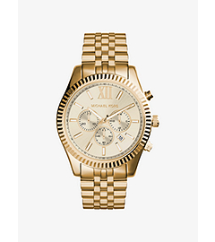 Lexington Gold-Tone Stainless Steel Watch