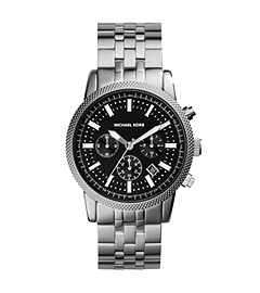 Scout Silver-Tone Stainless Steel Watch