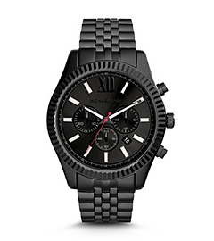 Lexington Gunmetal Stainless Steel Watch