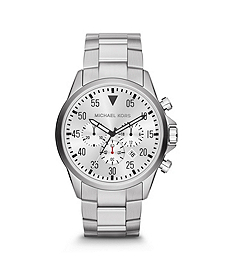 Gage Silver-Tone Stainless Steel Watch