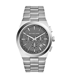 Channing Silver-Tone Stainless Steel Watch