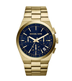 Channing Gold-Tone Stainless Steel Watch