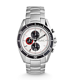 Jetmaster Silver-Tone Stainless Steel Watch