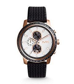 Granger Tire-Strap Rose Gold-Tone Stainless Steel Watch
