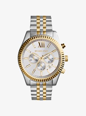 마이클 코어스 메탈 시계 Michael Kors Lexington Two-Tone Watch,TWO TONE