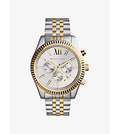 Lexington Silver and Gold-Tone Stainless Steel Watch