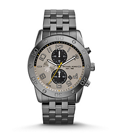 Mercer Gunmetal Stainless Steel Watch