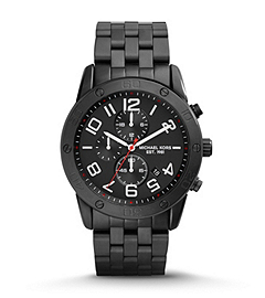 Mercer Black Stainless Steel Watch