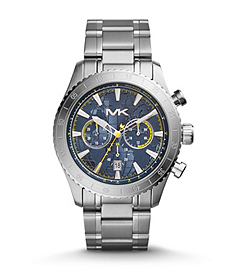 Richardson Silver-Tone Stainless Steel Watch