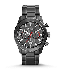 Richardson Black Stainless Steel Watch