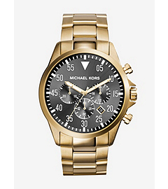 Gage Gold-Tone Stainless Steel Watch