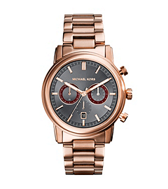 Pennant Rose Gold-Tone Stainless Steel Watch