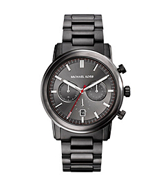 Pennant Gunmetal Stainless Steel Watch