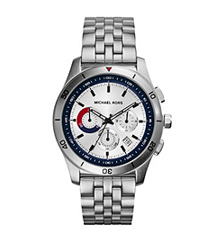 Outrigger Silver-Tone Stainless Steel Watch