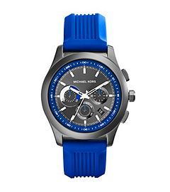 Outrigger Blue and Gunmetal Stainless Steel Watch