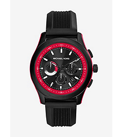 Outrigger Black Stainless Steel Watch