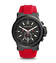 Dylan Black Stainless Steel and SilicOne Watch