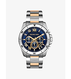 Brecken Two-Tone Stainless Steel Watch by Michael Kors