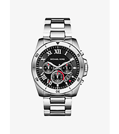 Brecken Silver-Tone Watch by Michael Kors
