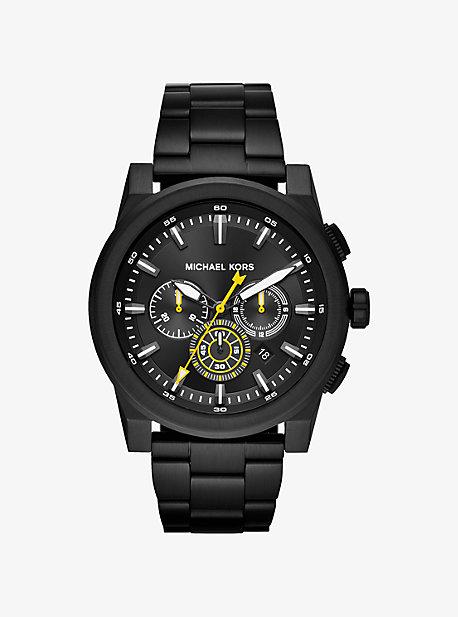 Grayson Black-Tone Watch
