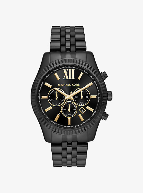Lexington Black-Tone Watch