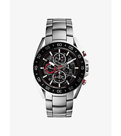 Jetmaster Silver-Tone Stainless Steel Watch by Michael Kors