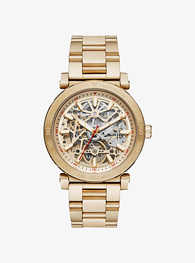 Greer Gold-Tone Watch by Michael Kors