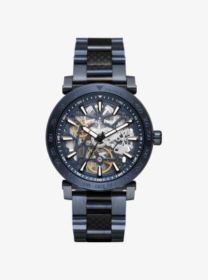 Greer Navy-Tone Watch by Michael Kors