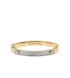 Astor Pavé-Embellished Gold-Tone Bracelet